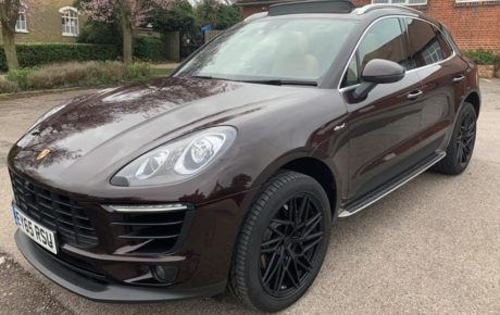 Porsche macan s  '2015
